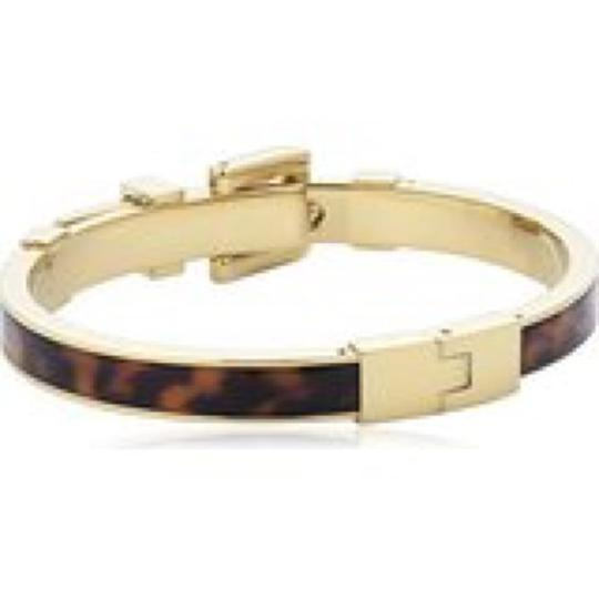 Michael Kors Michael Kors Buckle Bangle - Tortoise/ Golden brass hardware MKJ1674-710 Image 2