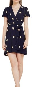Reformation short dress Navy on Tradesy