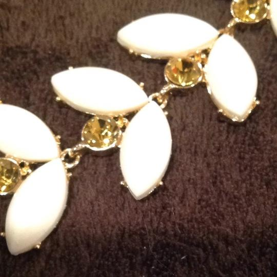 Kate Spade White & Yellow Kate Spade Necklace
