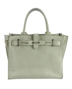 Furla Tote in Light Gray Green