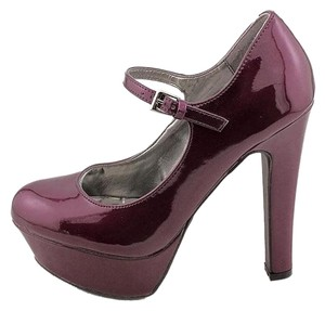 Guess Reconditioned Womens Purple Pumps