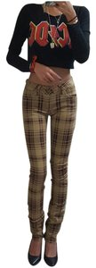 dELiA*s Plaid Chic Summer Winter Skinny Pants