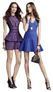 BCBGMAXAZRIA short dress Blue Babg Royal Harlie on Tradesy