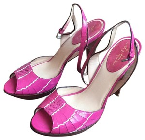 Cole Haan Pink patent leather Platforms