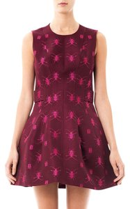 Alexander McQueen short dress Wine on Tradesy