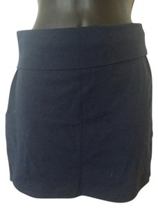 Forever 21 Bodycon Navy Mini Skirt Blue