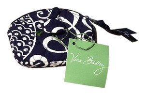 Vera Bradley Vera Bradley Button Up Coin Purse NWT Twirly Birds Navy