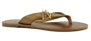 Tory Burch Nora Flat Thong Brown Sandals