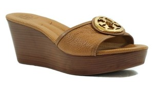 Tory Burch Wedges Brown Sandals