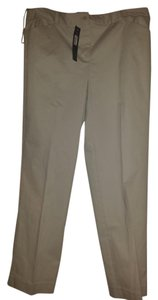 Jones New York Straight Pants Khaki, tan