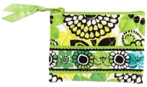 Vera Bradley Vera Bradley Coin Purse Zip NWT Lime's Up