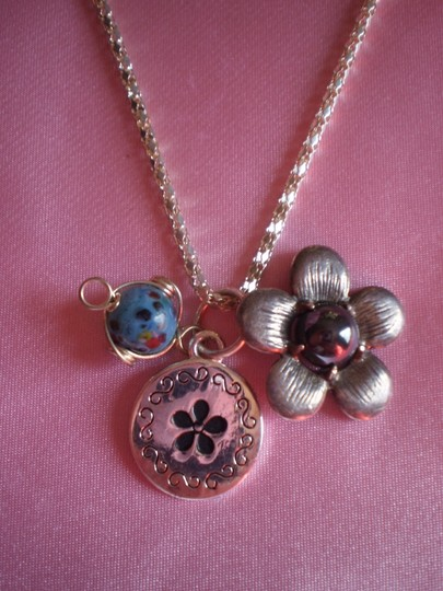 Other Sterling Charm necklace