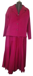 Monroe & Main Monroe & Main pink denim suit