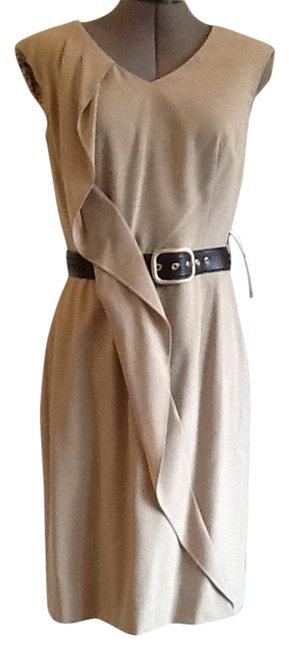 Preload https://img-static.tradesy.com/item/15267358/tahari-oatmeal-brown-by-asl-style-2120m182-meagan-knee-length-workoffice-dress-size-6-s-0-1-650-650.jpg