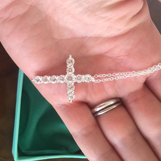 Other Silver Necklace Cross Image 2
