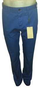 Burberry Straight Pants Bright Cobalt