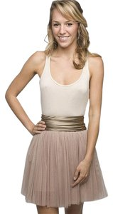 Haute Hippie short dress Blush Mini Tutu on Tradesy