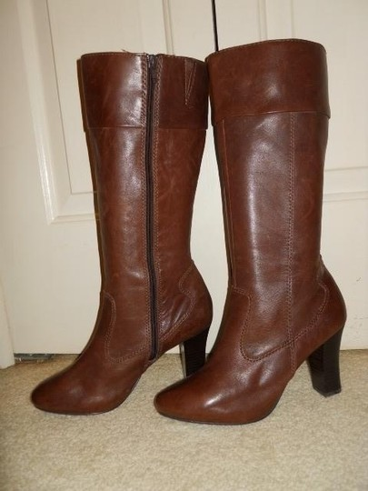 a.n.a. a new approach Leather brown Boots