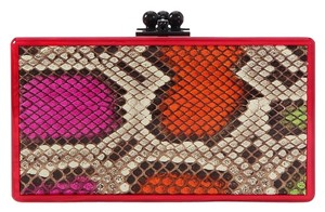 Edie Parker Box Red Pearlescent Ep.ek0413.06 Acrylic Multicolor Clutch