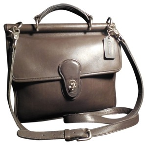 Coach Pewter Grey Messenger Bag