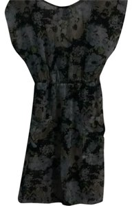 Xhilaration short dress Grey Floral on Tradesy