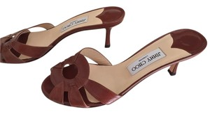 Jimmy Choo Leather Like New Brown Sandals