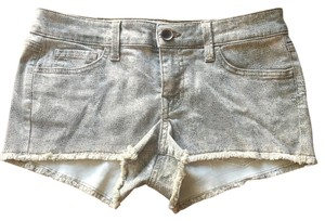 Level 99 Cut Off Shorts Snake skin