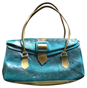 Made in Paraguay Satchel in Teal