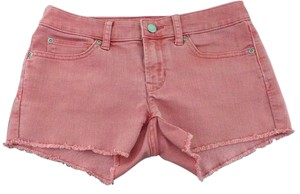 Gap Cut Off Shorts washed red