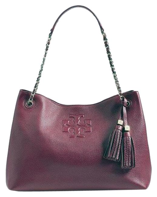 Item - Thea Ew Slouchy Burgundy Leather Tote