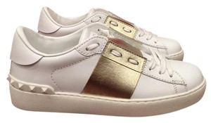 Valentino Rockstud White Athletic