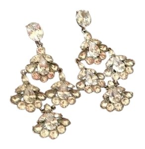 Carolee Chandelier Clip Earrings