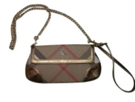 Preload https://img-static.tradesy.com/item/15270/burberry-purse-wristlet-sparkle-with-chai-bronzegold-fabric-and-leather-trim-shoulder-bag-0-0-540-540.jpg
