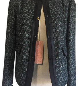 Etro Black, Green, and Gold Jacket