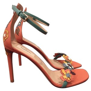 Valentino Rockstud Orange Pumps