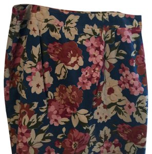 Boden Mini Skirt Blue multi