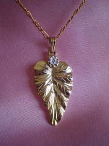 Other Like new Vintage leaf necklace