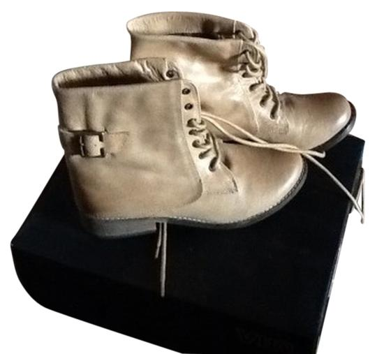 Mia Shoes Natural Leather Boots