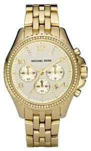 Michael Kors Michael Kors Pilot Gold-Tone Ladies Watch 41mm MK5347