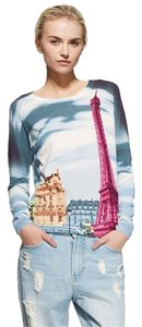 Tibi Eiffel Tower Sweater