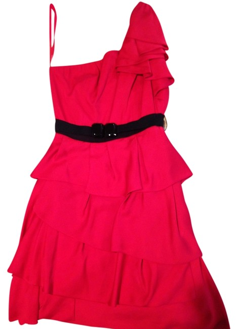Preload https://item3.tradesy.com/images/bcbgmaxazria-red-above-knee-cocktail-dress-size-2-xs-1527197-0-0.jpg?width=400&height=650