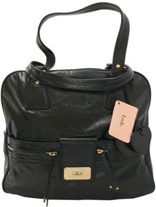 Luella Tote Hobo Travel Weekender Leather Shoulder Bag