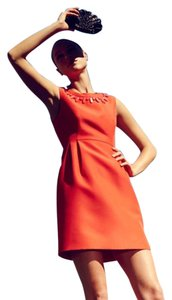 Kate Spade short dress Orange Embellished on Tradesy