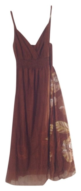 unknown short dress brownish on Tradesy