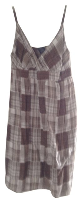 unknown short dress light brown whitish on Tradesy