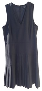 Theory short dress Black Pleated on Tradesy