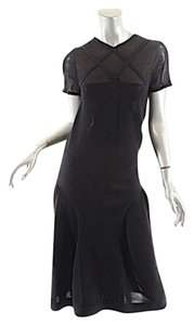 Black Maxi Dress by Fendi Knit