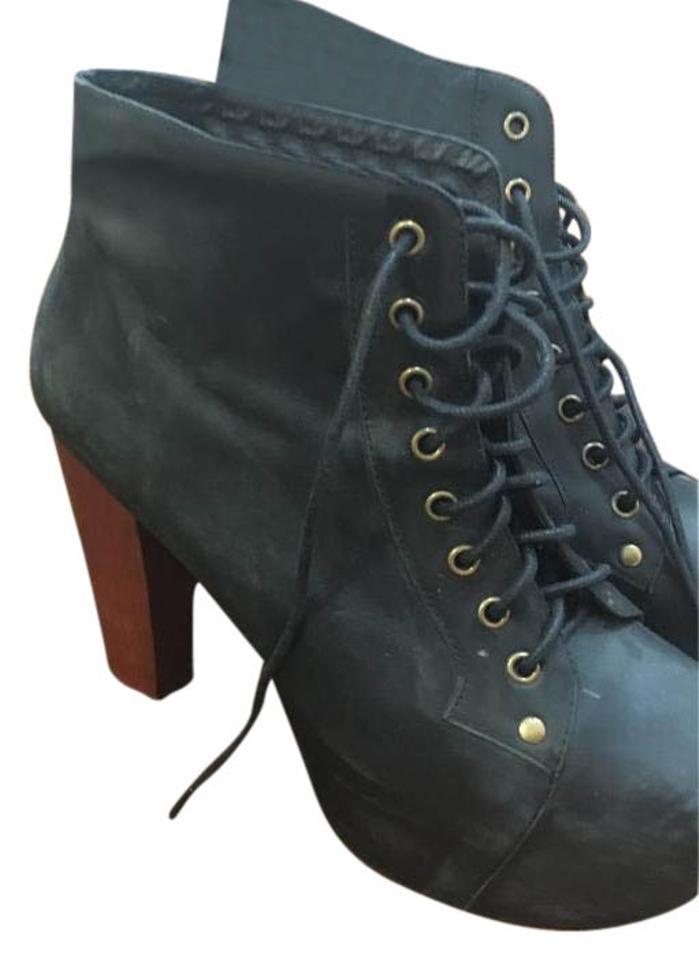 b6e8710a6b9 Jeffrey Campbell Black New Chunky Ankle Boots/Booties Size US 9 Regular (M,  B) 59% off retail