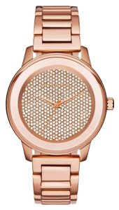 Michael Kors Michael Kors Kinley Pave Rose Gold Tone Ladies Watch 43mm MK6210
