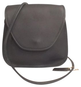 Coach Rare Vintage Leather Messenger Cross Body Bag